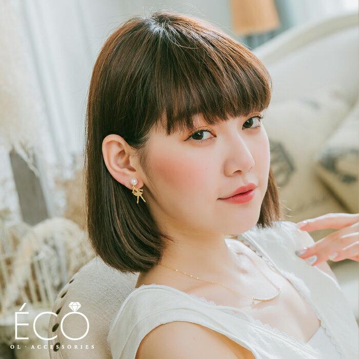 芭蕾,夾式耳環,無耳洞耳環,韓製,韓國,耳環