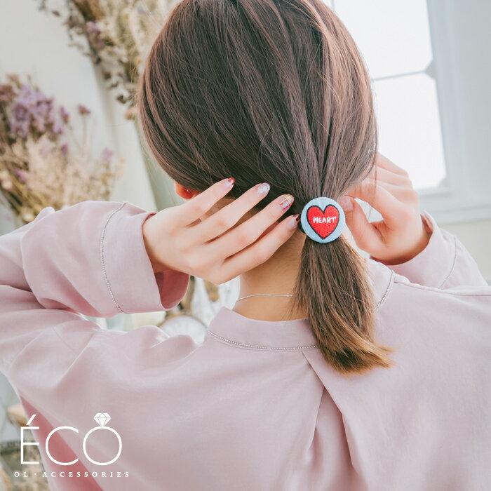 愛心,髮飾,髮束,韓國飾品