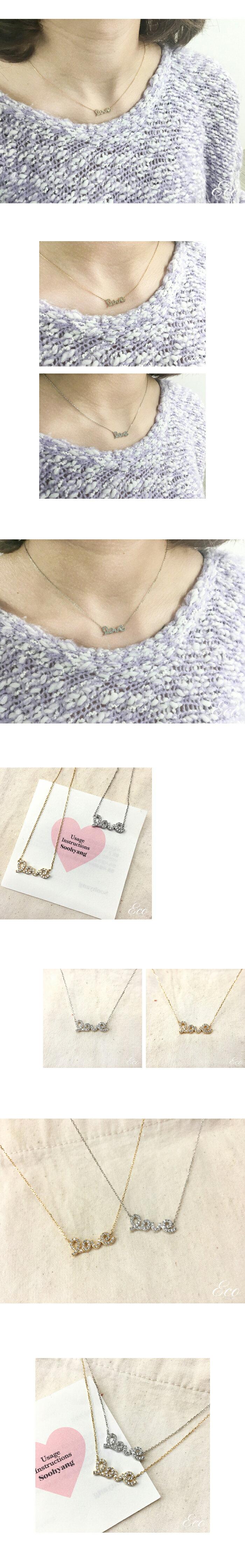 英字項鍊,LOVE項鍊,短項鍊,鎖骨練,韓製項鍊,韓國項鍊,韓貨項鍊