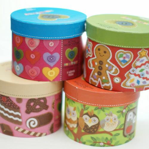 ECO安珂【15-043】狂歡派對 巧克力蛋糕/粉紅甜點/聖誕三寶/貓頭鷹/愛心鈕釦 馬克杯禮盒包裝(5款)
