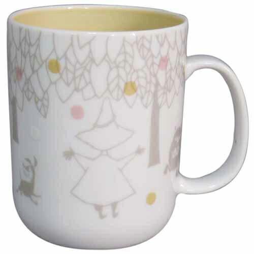 (預購)ECO安珂.日本製嚕嚕米圖案陶瓷 馬克杯/杯子(3色)【15-264】