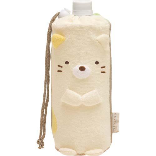 (預購)ECO安珂.日本進口小貓河童絨毛造型水壺套水壺袋【15-271】