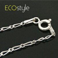 (預購+現貨)【Esn006】義大利925純銀項鍊18吋~8字細銀鍊