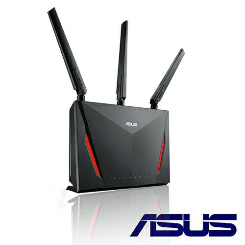 【現貨】ASUS 華碩 RT-AC86U 雙頻 Gigabit 無線路由器 MU-MIMO iPhone X 上網加快