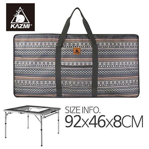 露營趣:【露營趣】中和KAZMIK6T3B001彩繪民族風折疊桌收納袋休閒桌摺疊桌裝備袋攜行袋