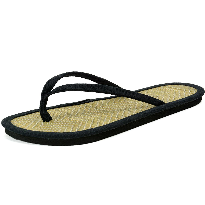 9020270a6e9187 Alpine Swiss Womens Bamboo Sandals Comfort Flats Summer Shoes Flip Flop  Thongs 0