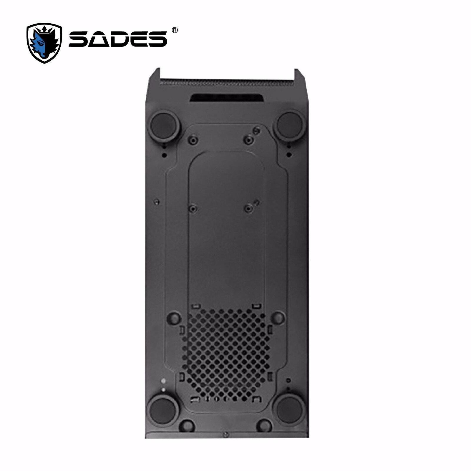 【迪特軍3C】立光代理 SADES 賽德斯 狼王萊肯 強化裝甲機箱 電腦機殼 適用ATX M-ATX ITX 主機板 0.7超厚鋼板 4
