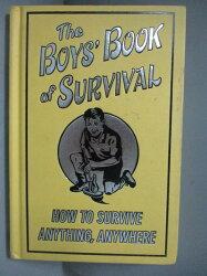 【書寶二手書T1/原文書_ISX】The Boys' Book of Survival_Guy Campbell