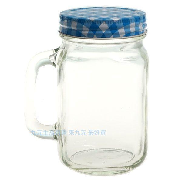 【九元生活百貨】玻璃手把杯/480ml 玻璃水杯 梅森瓶