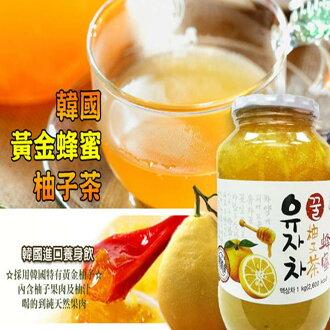 【韓國柚子茶第一品牌】韓太 韓國黃金蜂蜜柚子茶 1kg,1罐入  樂活生活館