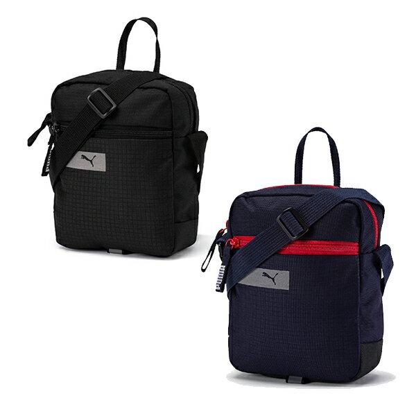 【PUMA】PUMA Vibe小側背包(N) 配件 休閒 黑/藍 包包 -07549301/07549306