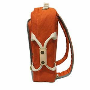 CORRE【CP803】 復古帆布手提後背兩用包 藍 / 橘 / 紅 共三色 4
