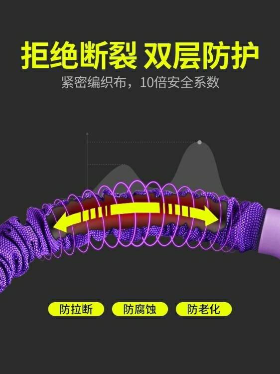 拉力器 仰臥起坐彈力繩家用多功能健身器材運動輔助帶女腳蹬拉力器
