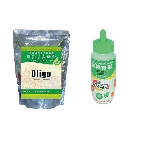 【綠太陽】100%異麥芽寡糖粉1000g 買10包送健康寡糖13瓶