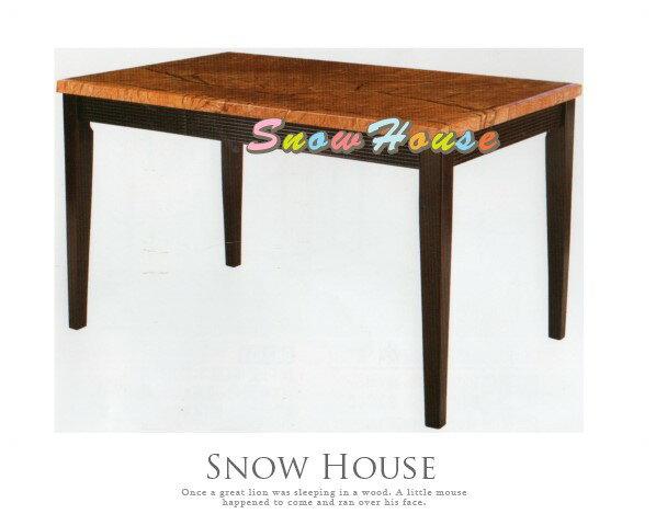 ╭☆雪之屋居家生活館☆╯AA741-06326琥珀色石面餐桌飯桌(DIY自組)兩款可選