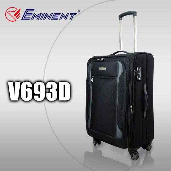 【加賀皮件】EMINENT 雅仕 萬國通路 可擴充加大 24吋布箱 旅行箱 行李箱 V693D
