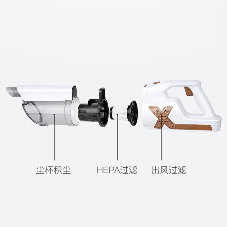 手持吸塵器 有線款 家用吸塵器手持除蟎小型吸塵機