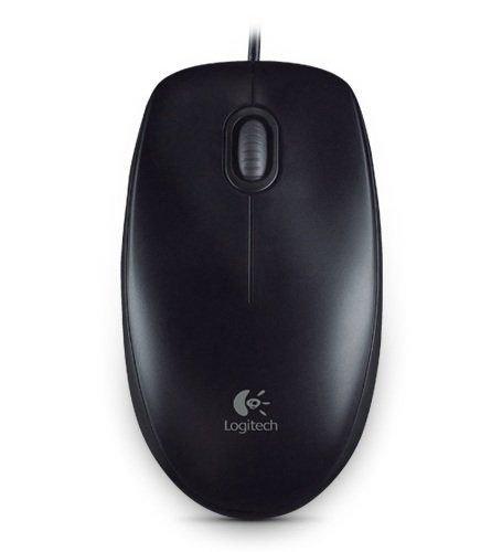 【迪特軍3C】Logitech 羅技 B100 光學滑鼠 USB介面 雙手適用的舒適設計 800 dpi光學精準度