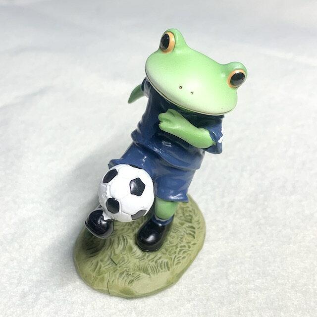 現貨【滿千免運含發票】日本Copeau蛙帥氣足球篇【 HUAYUE】療癒小物