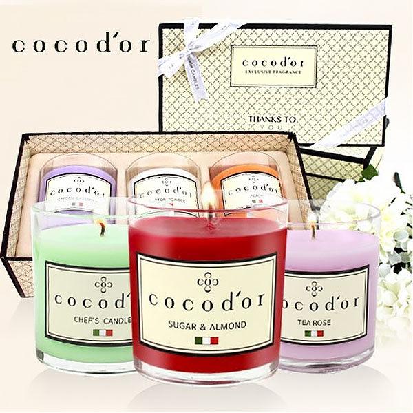 韓國 cocod or 精油蠟燭 單入 130g 香氣精油蠟燭 香氛 香味 芳香 蠟燭