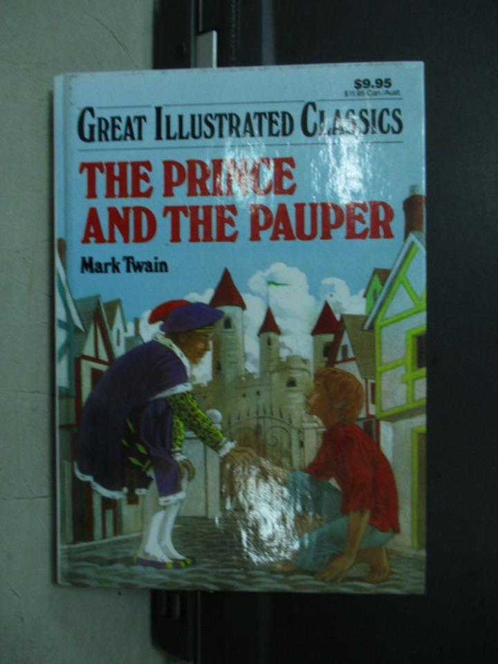 【書寶二手書T2/原文小說_NFI】The Prince and the Pauper