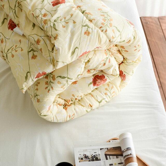 棉被 【花蔓】科技羽絲絨被(雙人款2.6KG)-可水洗棉被 絲薇諾