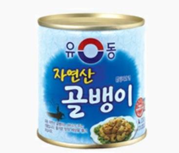 韓國 螺肉罐頭 230g