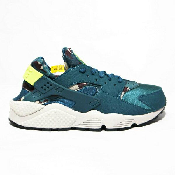 [US 9] nike(725076 301) Nike WMNS AIR HUARACHE RUN PRINT武士鞋(女)(綠),全新美國公司貨 【119 小鋪】