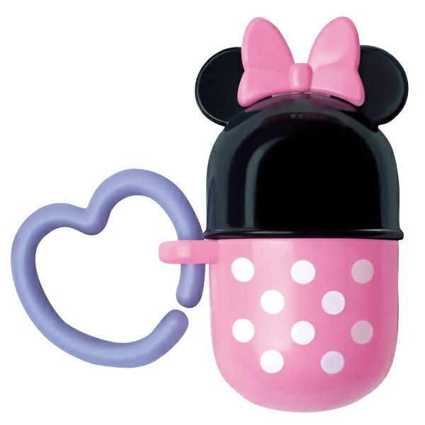 ★衛立兒生活館★日本 迪士尼 Disney 米妮小饅頭零食收納盒