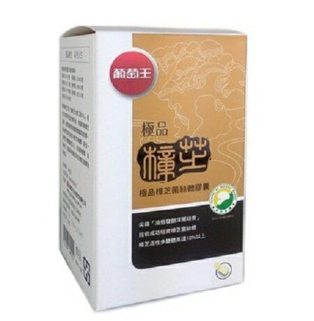 葡萄王 極品樟芝菌絲體膠囊 250粒 (和德藥局) 保證公司正貨