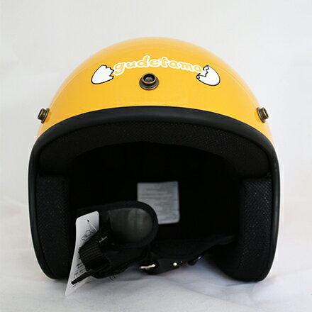 敵富朗超巿:【敵富朗超巿】蛋黃哥安全帽-黃色