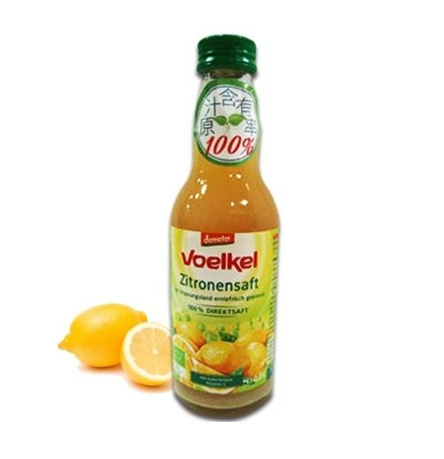 維可Voelkel 德國有機檸檬汁 200ml/瓶
