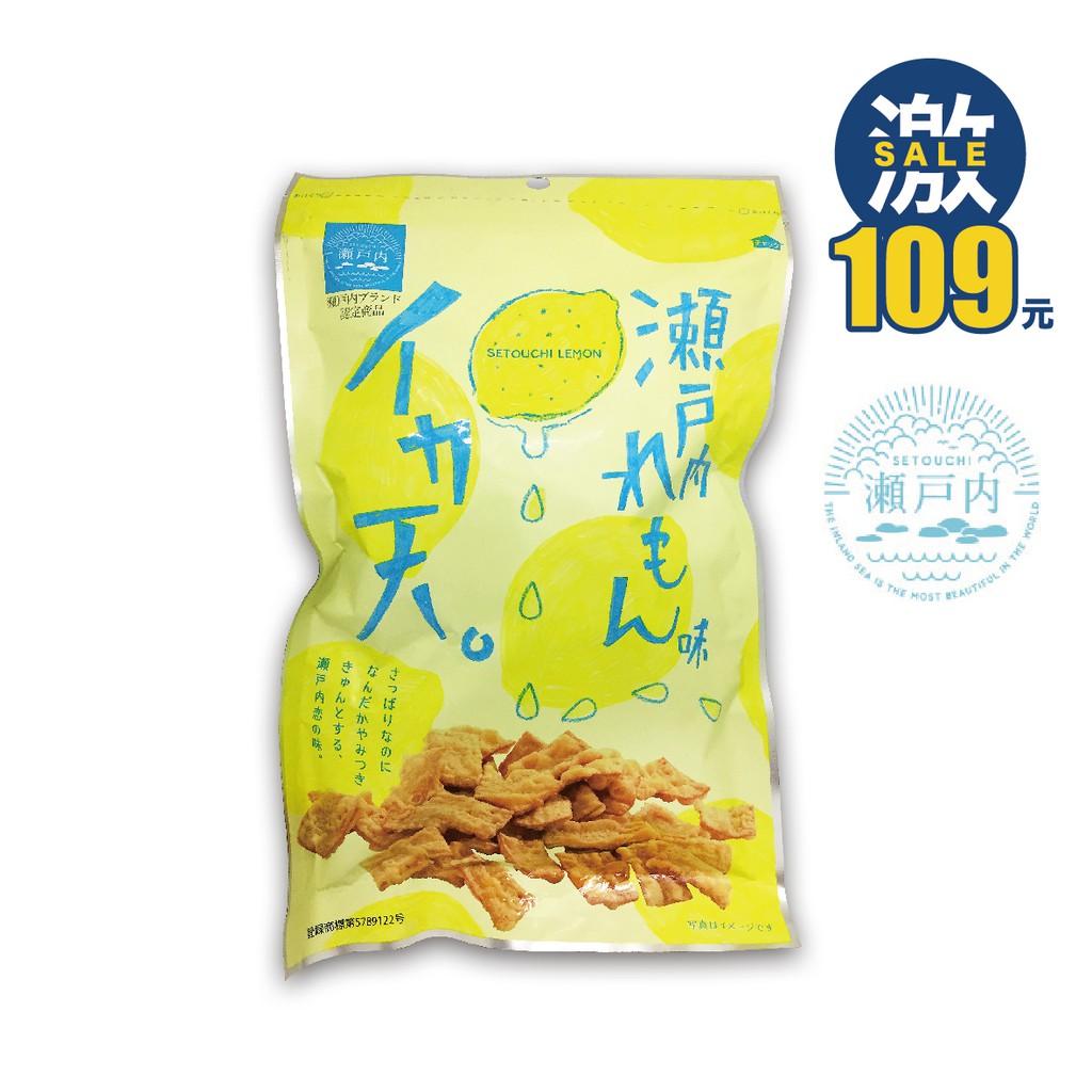 MARUKA 瀨戶內檸檬花枝脆餅 85g