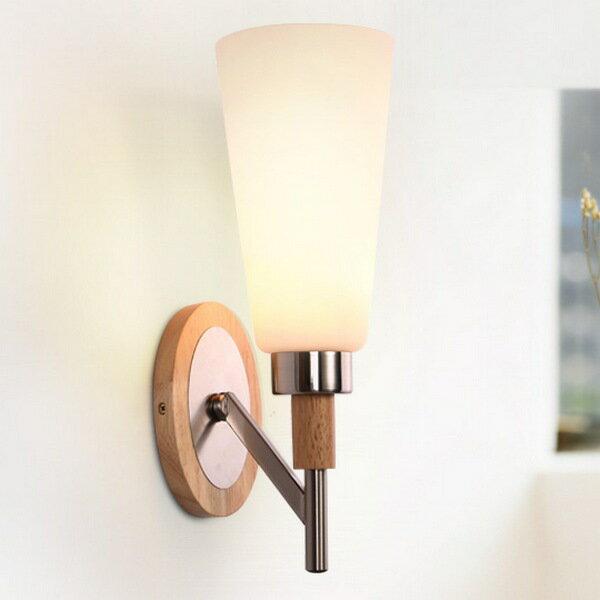 【威森家居】北歐 實木小杯壁燈 現貨原木工業風現代簡約復古吸頂燈吊燈壁燈大廳客廳臥室陽台燈具LED設計師 L160905