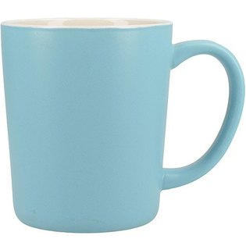 《CreativeTops》Cafetiere單柄馬克杯(消光藍400ml)