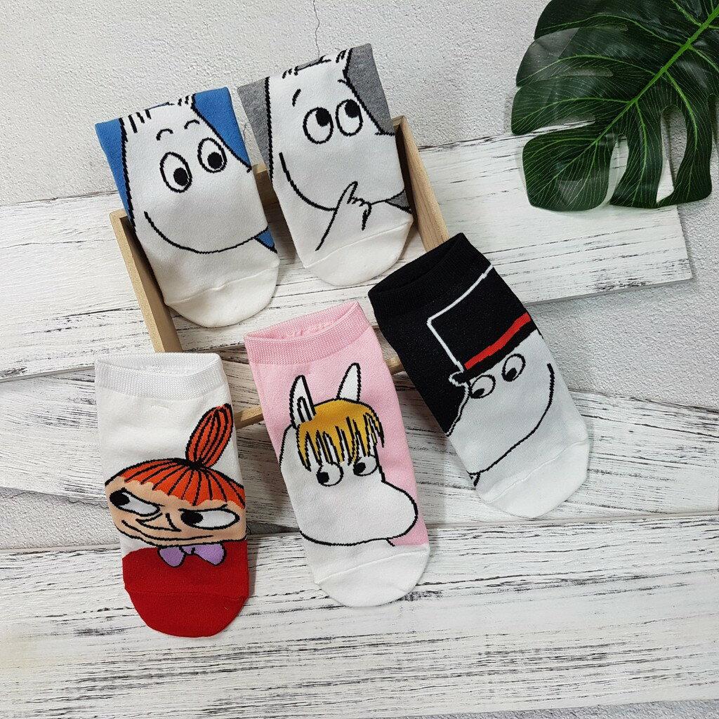 【卡通短襪】韓國襪 嚕嚕米滿版大圖短襪 1