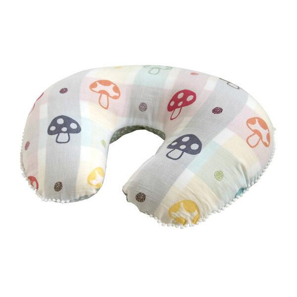 上贏廚衛家居生活館:現貨日本Hoppetta蘑菇多用途哺乳枕授乳枕U型枕月亮枕孕婦枕支撐枕