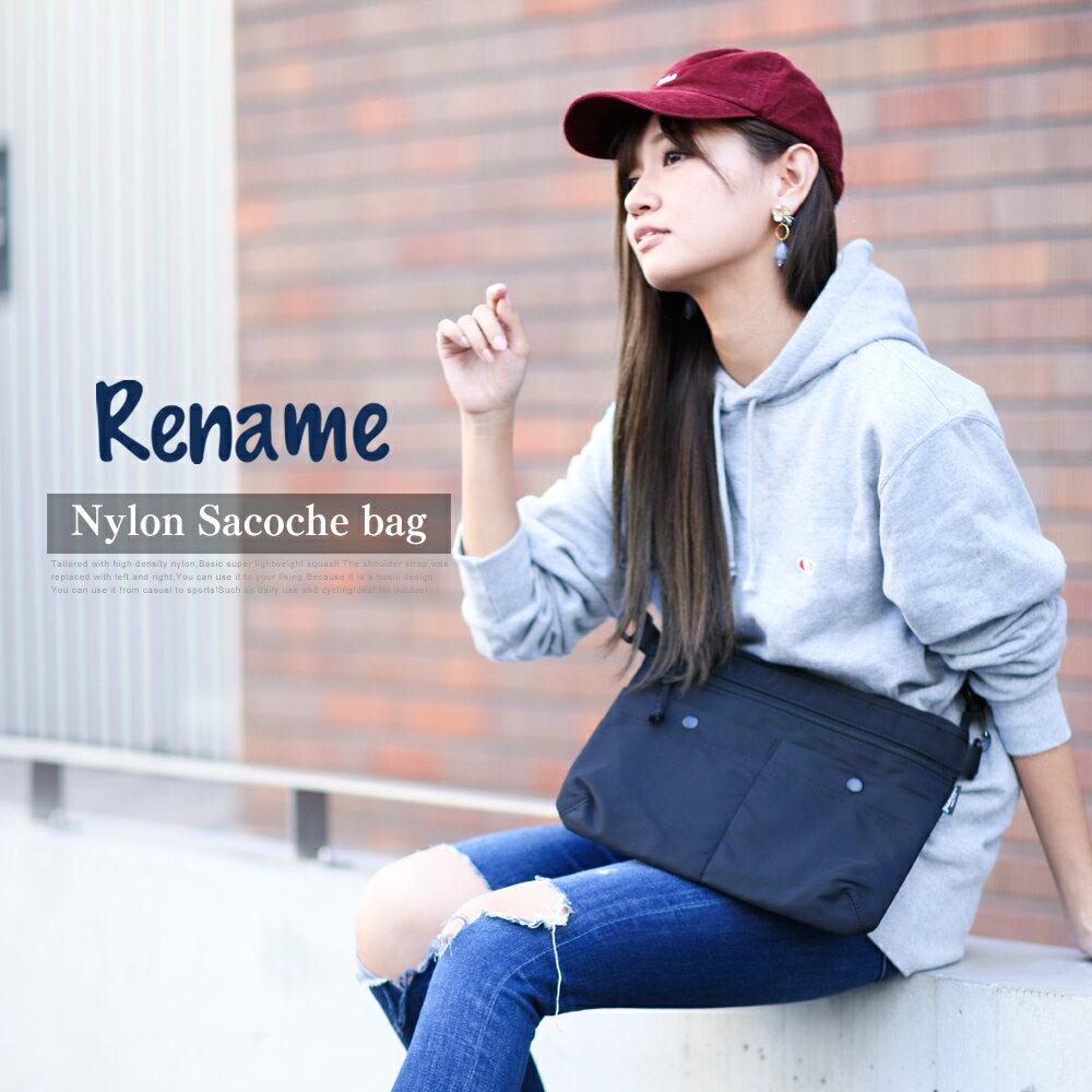 日本Rename / 戶外輕量尼龍斜背包 / rsn70026zz / 日本必買 日本樂天代購直送 0