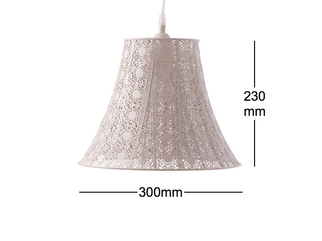 鄉村風米白吊燈-BNL00074 6