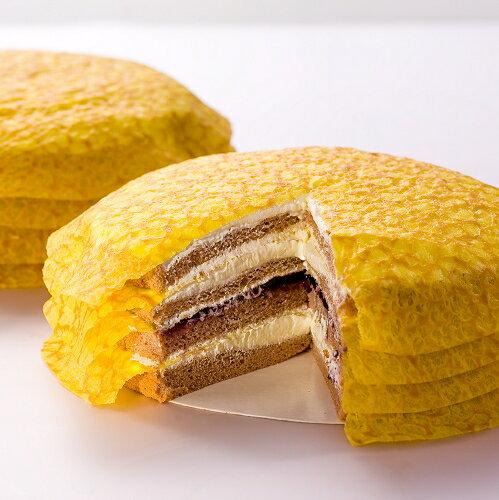日燒_北海道千層戚風~檸檬白巧克【團購美食】 1