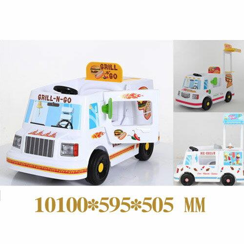 馬克文生W408胖卡電動車(可騎乘車)(冰淇淋燒烤漢堡)【悅兒園婦幼生活館】