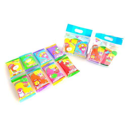 ★衛立兒生活館★Petit March三月小熊 嬰兒手口濕巾-單串(8包)
