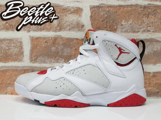 BEETLE NIKE AIR JORDAN 7 RETRO HARE 兔寶寶 七代 白紅 男鞋 304775-125