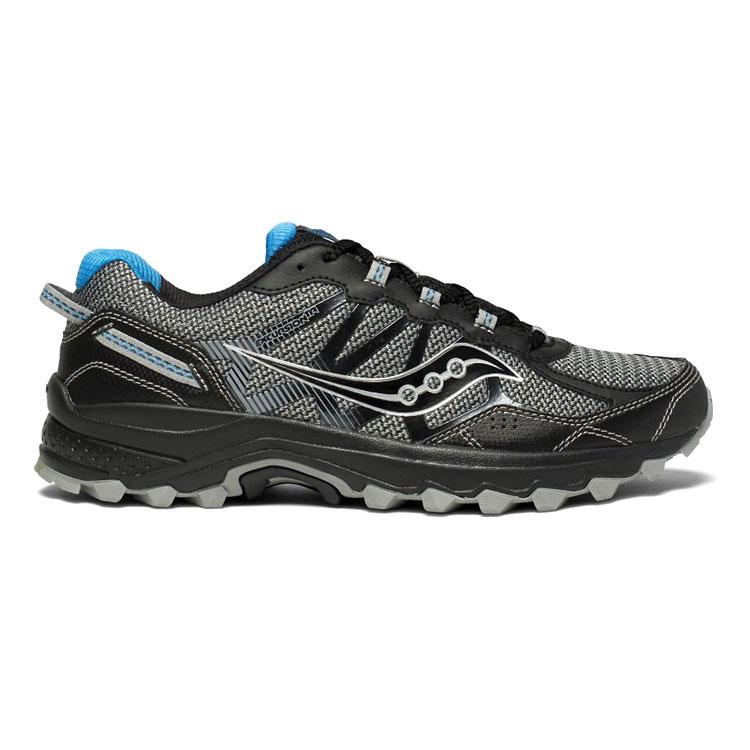 saucony 男 EXCURSION TR11 越野鞋SY20392-9【黑灰】  /  城市綠洲 (跑鞋、運動休閒鞋、EVERUN) 1