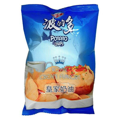華元 波的多 洋芋片-皇家奶油味(奶素) 43g