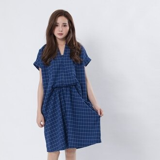 Greta 格塔漂浮洋裝/藍