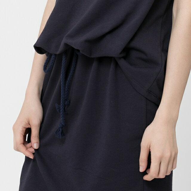 法國小毛圈衣裙洋裝 / 深藍 3