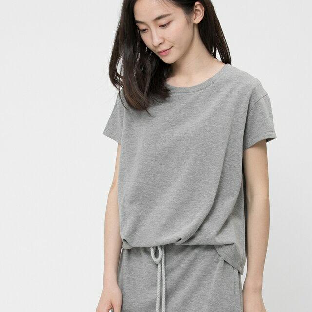 法國小毛圈衣裙洋裝 / 中灰 3