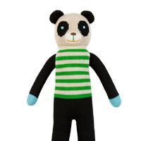 Blabla Bamboo 竹子貓熊手工針織娃娃(展示品)