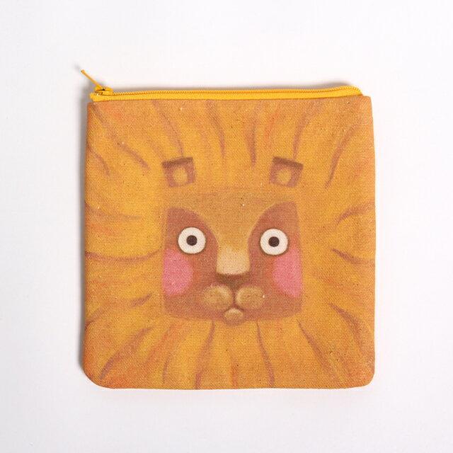 《米各說》方頭獅軟軟的小物包